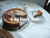 Mohnkuchen mit Birnen und Quark
