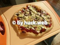 Pizza- Flammkuchenteig mit langer Führung