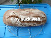 Roggenmischbrot mit Vorteig und Sauerteig